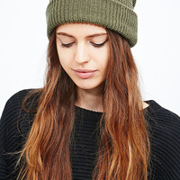 Urban Renewal Vintage Surplus Beanie Hat in Olive - Urban Outfitters
