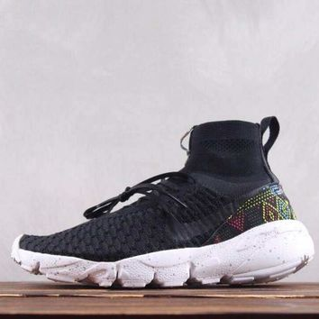 DCCK2 N257 Nike Air Footscape Magista Flyk Running Shoes Black