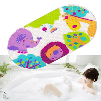 Kids Cartoon Non Slip Suction PVC Safety Bath Shower Mat Bathroom Toilet Rugs - *FREE SHIPPING*