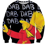 "Dab On'Em Bart ""Sweatshirts"""