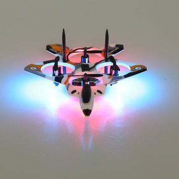 mini rc fighter plane 2.4G 4ch 6 Axis rc drone quadcopter