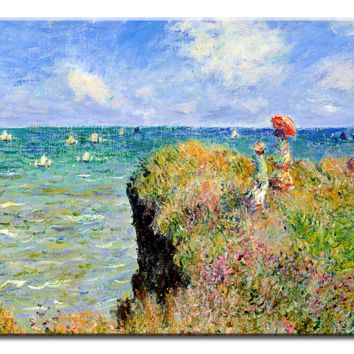 Monet Oil Painting Stock Photo 01 - 1 panel L