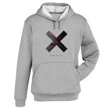 xx coexist Hoodie Sweatshirt Sweater Shirt Gray and beauty variant color for Unisex size