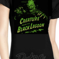 Retro Glam - Rock Rebel Creature from the Black Lagoon Women's Tee