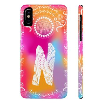 Monogram Collection- Boho- Choose your initial N Phone Case
