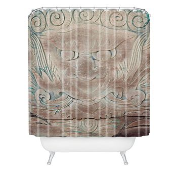 Catherine McDonald The Dragon Shower Curtain