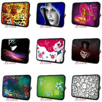 customize Laptop bag 7 9.7 10 12 13 14 15 17 Notebook Sleeve Case Pouch Cover For 13.3 15.6 17.3 inch MacBook Air Pro NS-top58