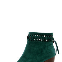 O'Neill Taylor Jade Suede Knotted Ankle Boots