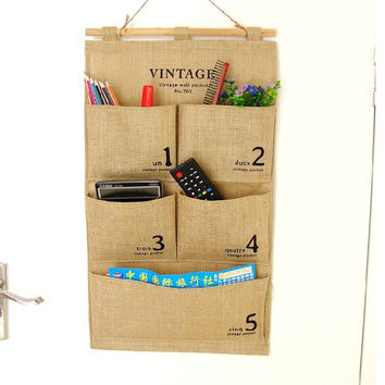 Big Size Cotton Linen Storage Bags [6283598598]
