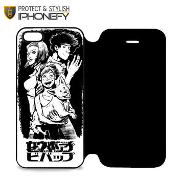 Anime Cowboy Bebop iPhone 5 Flip Case|iPhonefy