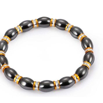 Weight Loss Round Magnetic Therapy Bracelet
