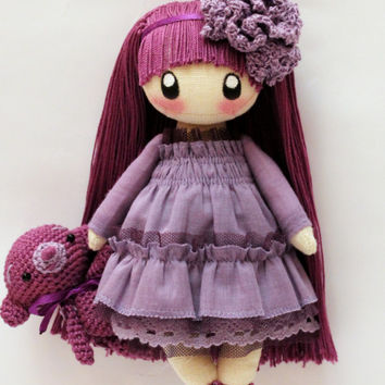 Little Doll  Frusya  violet