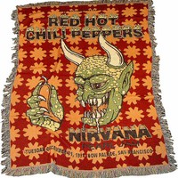 Red Hot Chili Peppers Afghan Cow Palace (San Francisco, CA) Dec 31, 1991