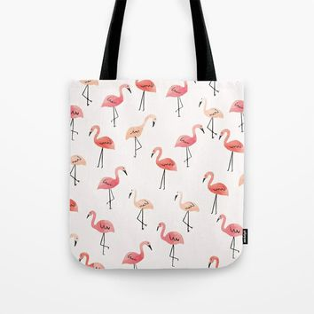 Flamingo Fun Tote Bag uploaded by Allison Reich