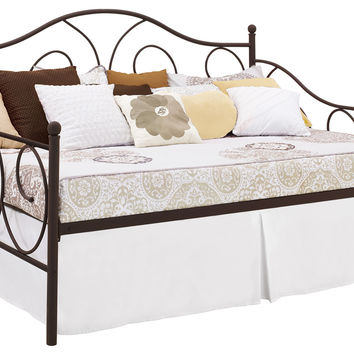 Andover Mills Metal Scroll Daybed