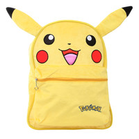 Pokemon Pikachu Furry Backpack