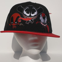 Marvel - Venom, Carnage, Deadpool Snapback Hat