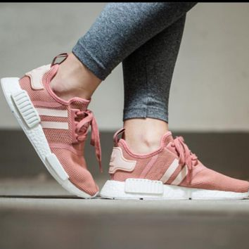 """Adidas"" NMD Trending Fashion Casual Sports Shoes Pink"