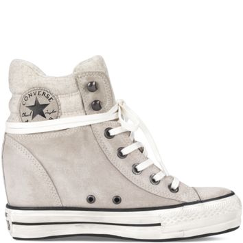 Converse - Chuck Taylor Platform Plus Collar - Portrait Grey - Hi Top