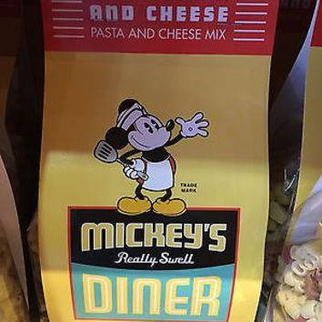 disney parks chef mickey's really swell mickeyroni & cheese mix pasta new sealed