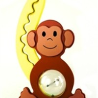 Monkey Coin Bank by Big Belly