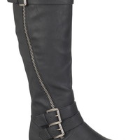 nancy riding boot in black