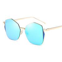 vintage Sunglasses Women  Brand Design Polarized Sun glasses