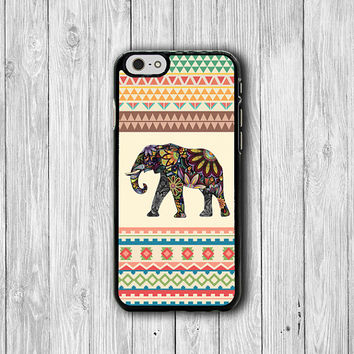 Aztec Elephant Tribal Geo Design iPhone 6 Case Big Animal iPhone 6 Plus, iPhone 5S, iPhone 5 Case, iPhone 5C Case, iPhone 4S Case, iPhone 4