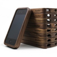 Retro Walnut Wood iPhone Case for iPhone4/4S