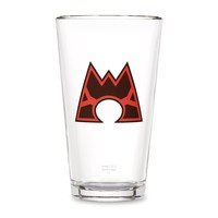 Team Magma Glass Tumbler