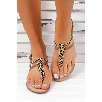 Been Spotted Naughty Monkey Sandals (Leopard)