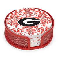 Thirstystone Georgia Bulldogs 4-pc. Coaster Set