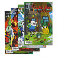 Adventure Time Paper Comic 4-Pack Set Issues 1-4 |