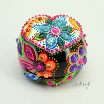 Love box of the day of the dead ring box RB0009