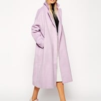 ASOS Coat in Relaxed Oversized Fit