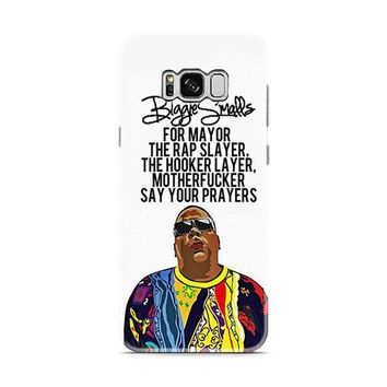 Biggie Smalls Quotes Samsung Galaxy S8 | Galaxy S8 Plus case