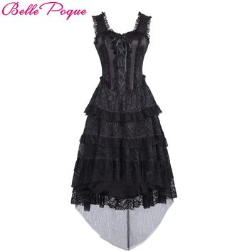 *Belle Poque Retro Vintage Victorian Steampunk Gothic Dress
