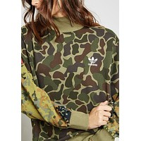 adidas Originals X Pharrell Williams Hu Camo Sweatshirt