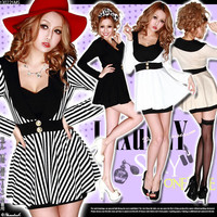 Rakuten: Luxurious sexy GAL ♪  monotone color jacket style dress- Shopping Japanese products from Japan