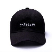 BABYGIRL Embroidery Dad Hat