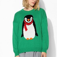 Coincidence & Chance Holiday Penguin Sweater - Urban Outfitters