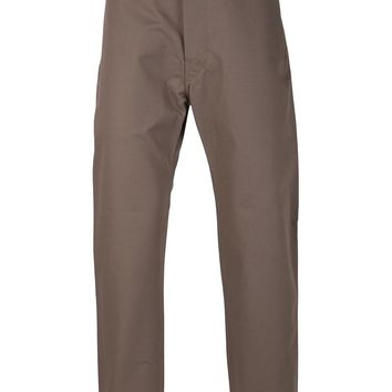 Christophe Lemaire straight leg trousers