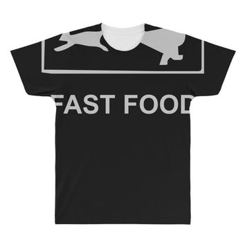 fast food funny All Over Men's T-shirt