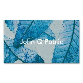 nature art business card template double sided
