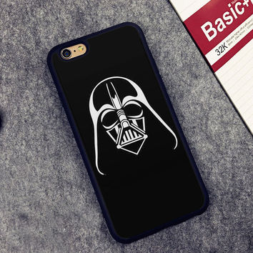 Star Wars Darth Vader Printed Soft TPU Skin Mobile Phone Cases For iPhone 6 6S Plus 7 7 Plus 5 5S 5C SE 4 4S Back Cover Shell