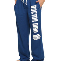 Doctor Who Logo Guys Pajama Pants