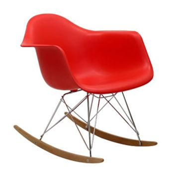 Sunset Rocking Chair RED