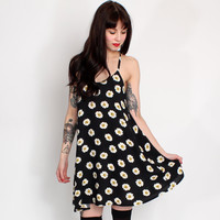 AX Paris Black Dolly Daisy Print Cami Dress