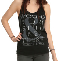 Of Mice & Men Still Be There Girls Tank Top