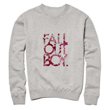fall out boy Sweatshirt Crewneck Men or Women for Unisex Size